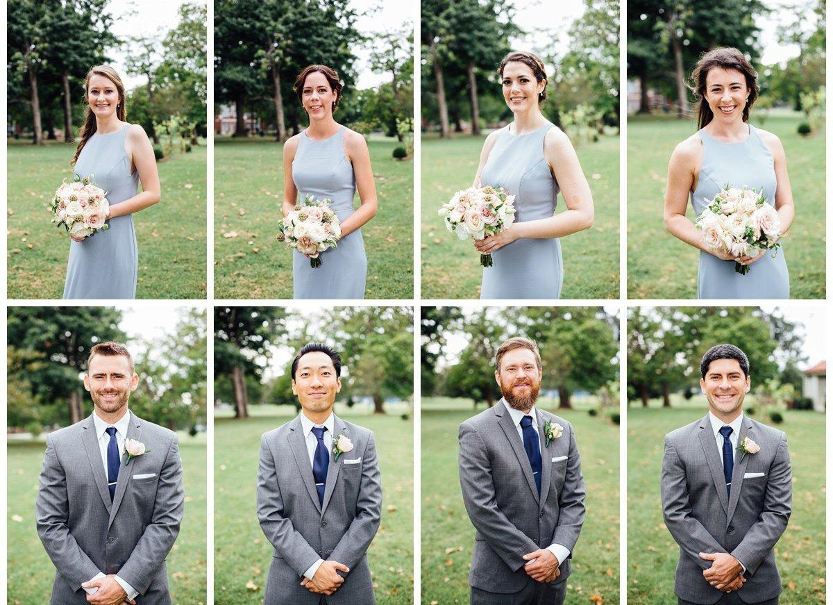 wedding-party-brady-bunch-style-3 Clementine Hall   Nashville Wedding   Rachel and Bobby