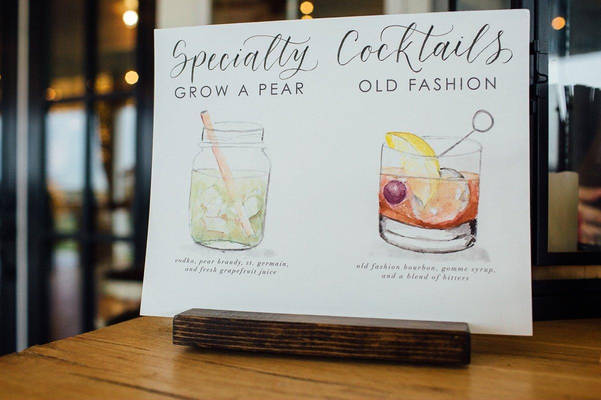 wedding-specialty-cocktails Allenbrooke Farms | Spring Hill TN Wedding | Sam and Kaleb