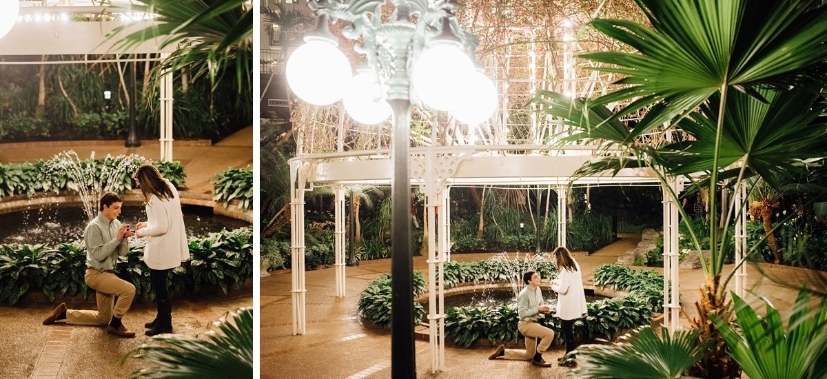 opryland-proposal-photographer Nashville Proposal Photographer