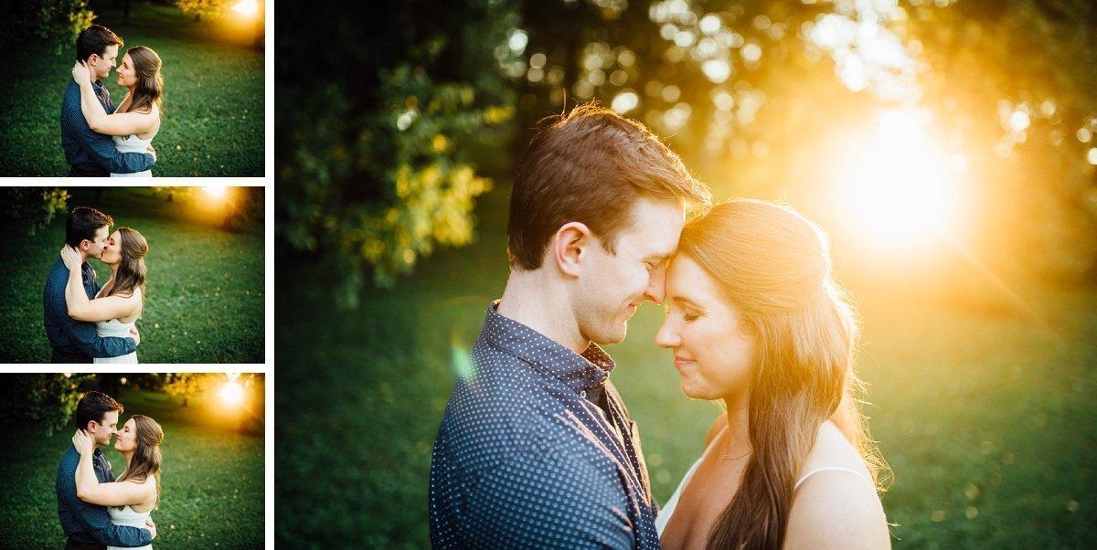 sunflare-engagement-portraits Beautiful Golden Hour Engagement