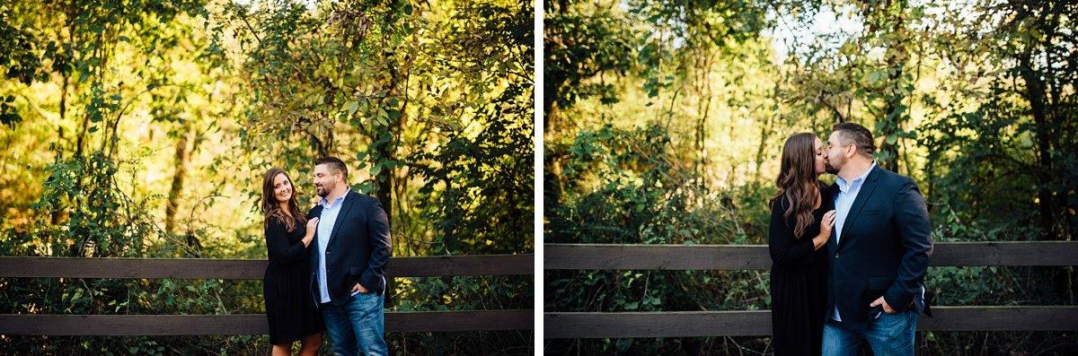 beautiful-lighting-photos Percy Priest Lake Engagement Photos
