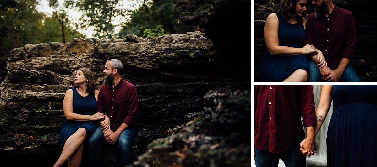 couple-engagement-photo-details Woods and Waterfalls Engagement Session