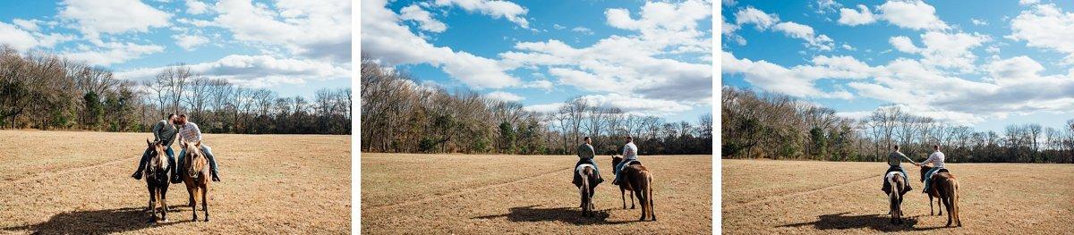 couple-on-horses-2 Horseback Engagement Session