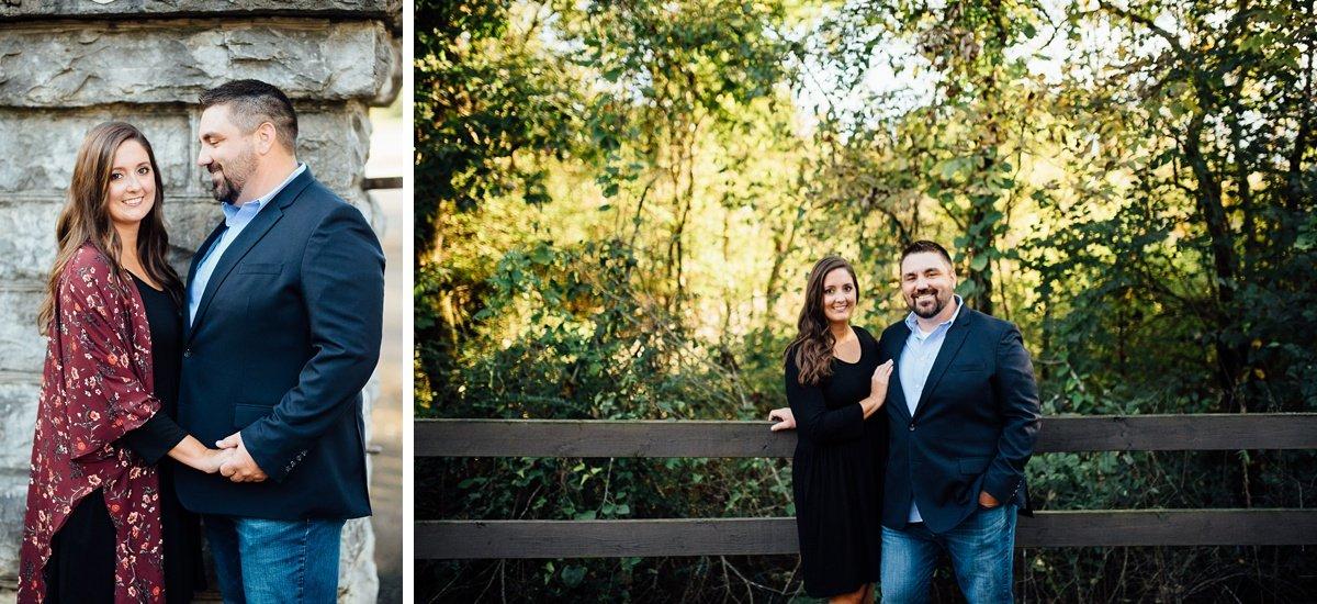 couple-photos Percy Priest Lake Engagement Photos