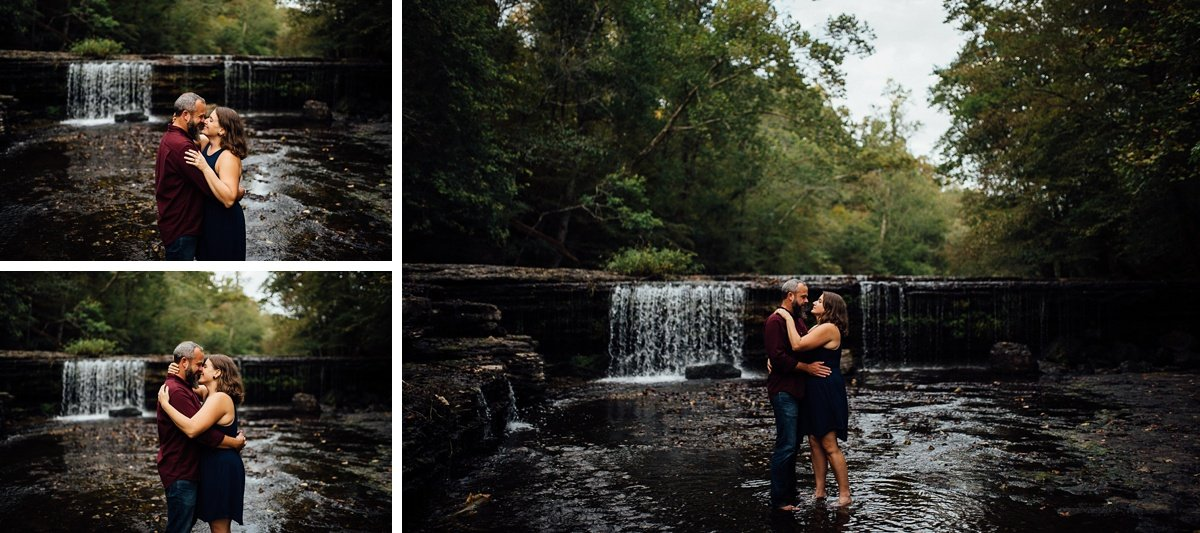 engagement-photos-at-waterfall Woods and Waterfalls Engagement Session