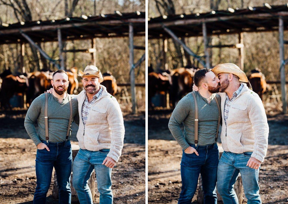 gay-couple-engagement-session-2 Horseback Engagement Session