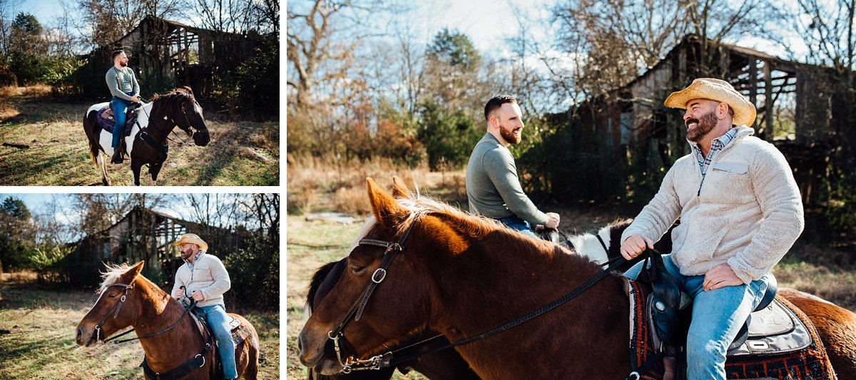 gay-couple-photography-2 Horseback Engagement Session