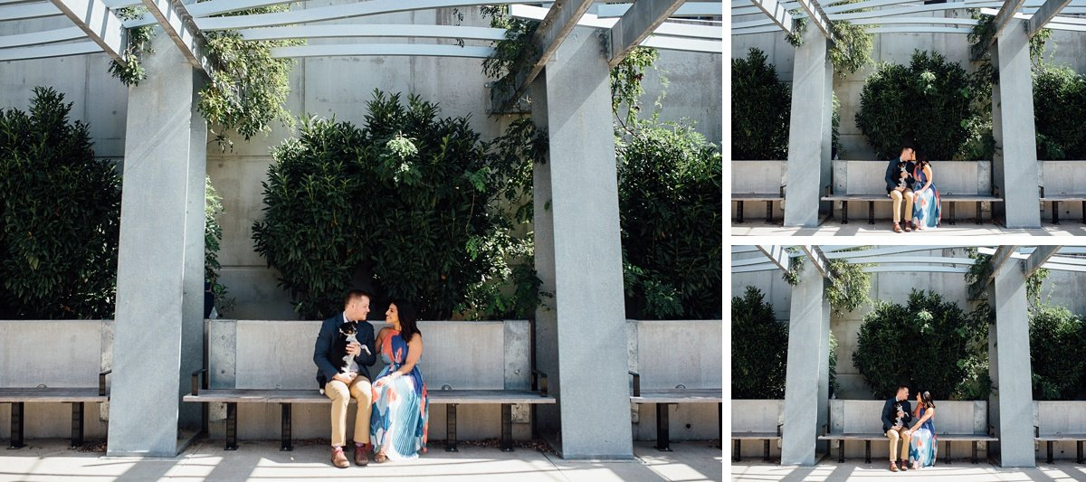 nashville-couple-photographer Downtown Nashville Engagement Session