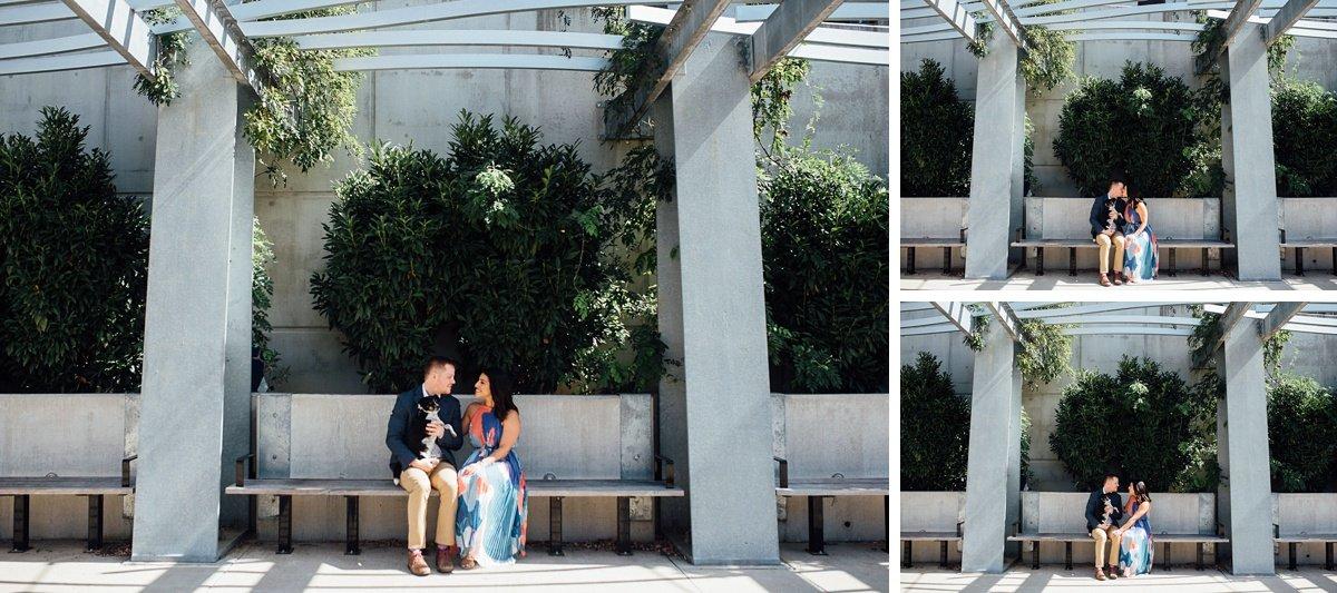nashville-couple-photographer Downtown Nashville Engagement Session