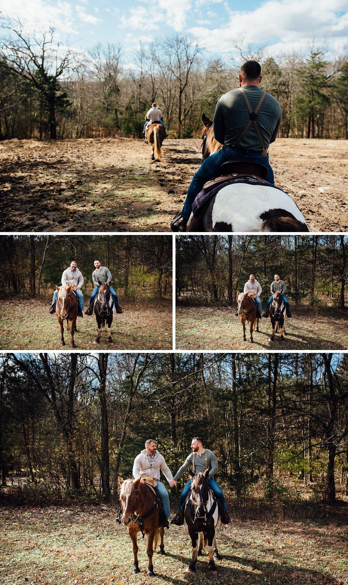 nashville-engagement-photographer-2 Horseback Engagement Session