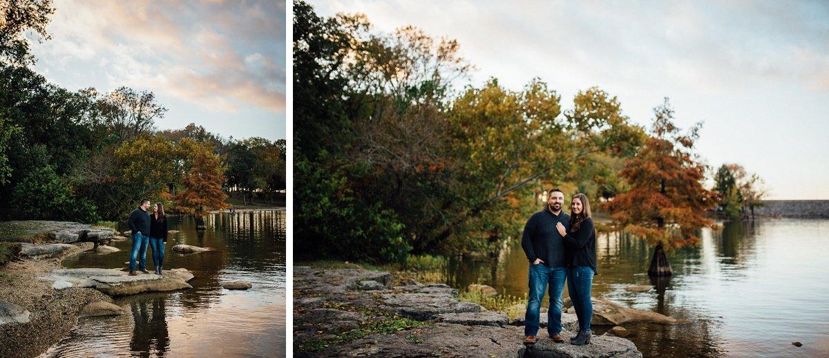nashville-lake-sunset Percy Priest Lake Engagement Photos
