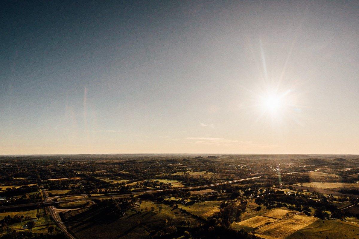 sunset-from-hot-air-balloon Hot Air Balloon Proposal