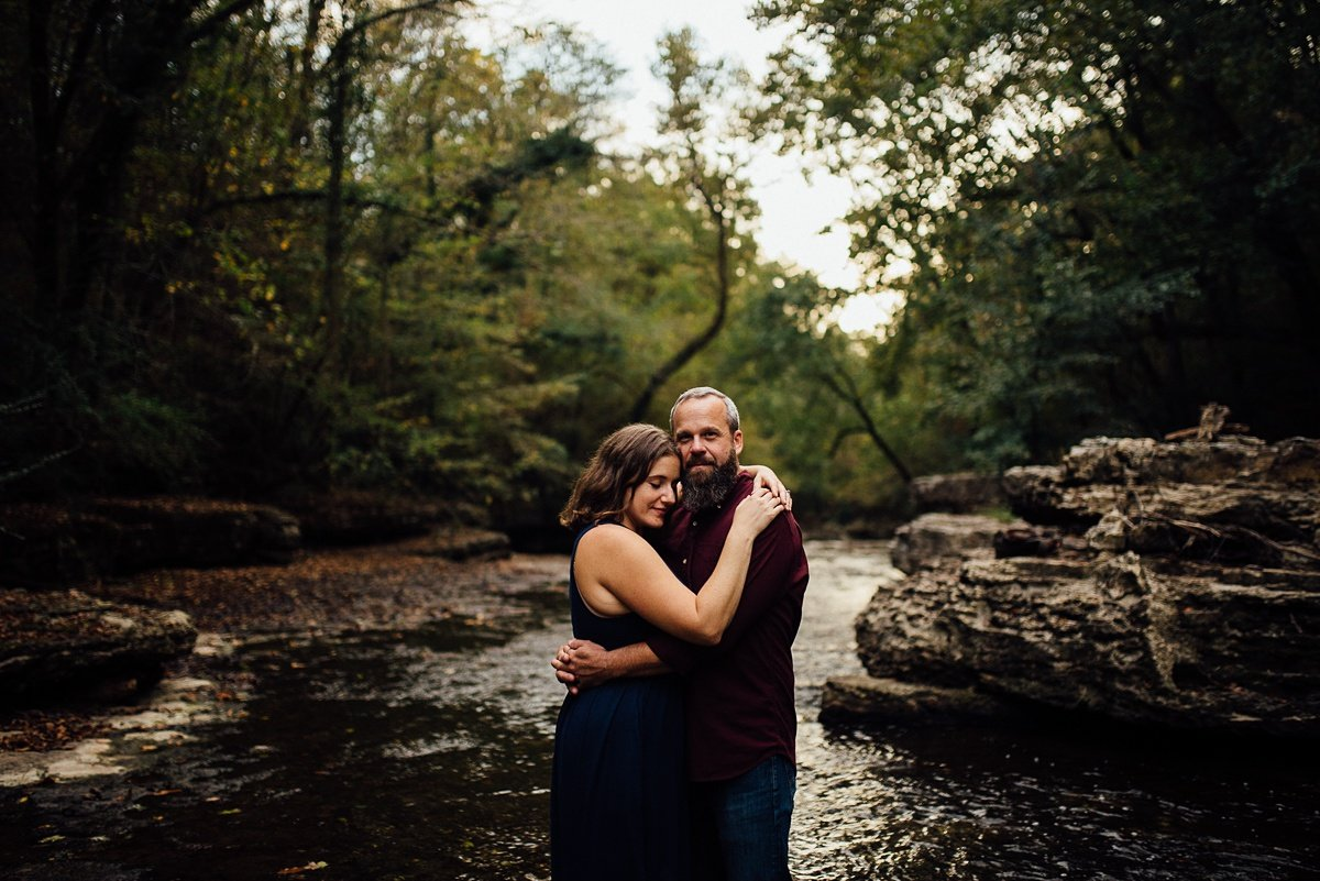 tennessee-engagement-photographer Woods and Waterfalls Engagement Session