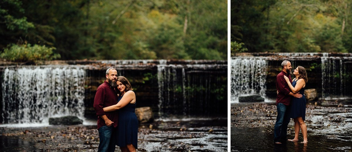 waterfall-engagement-session Woods and Waterfalls Engagement Session