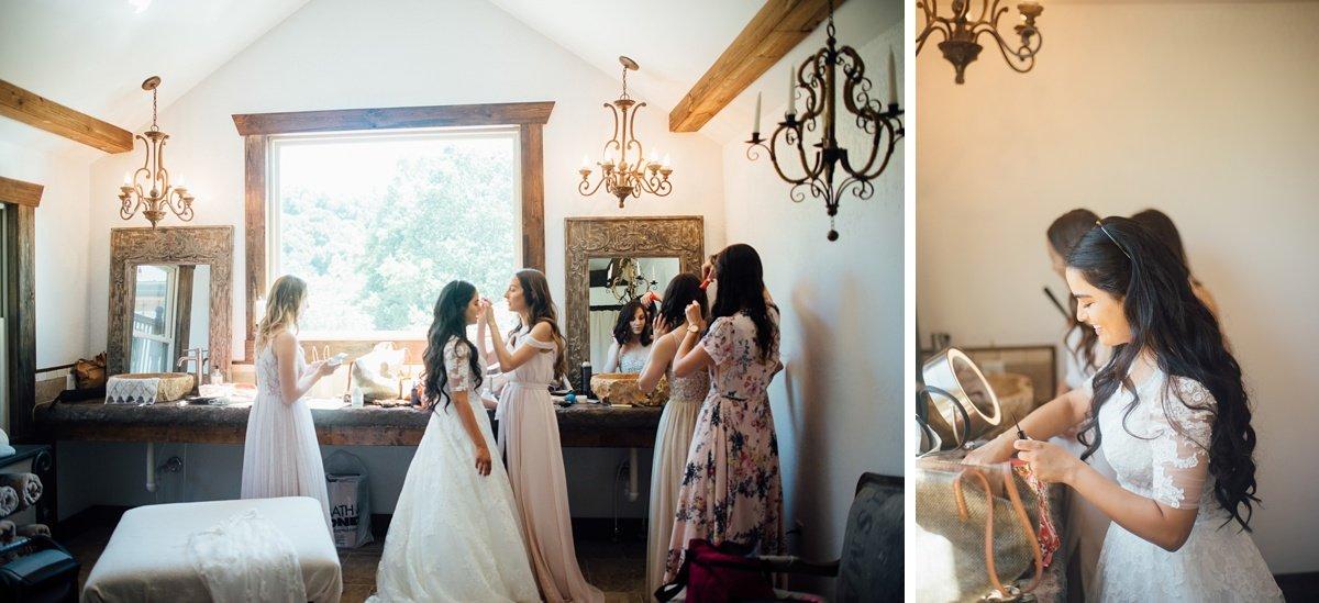 bride-bridesmaids-ready-1 Cason's Cove Alvaton, KY | Nicole + Austin