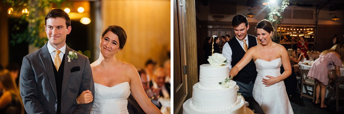 bride-groom-cake Christ The King Wedding | Loveless Barn | Nina + Evan