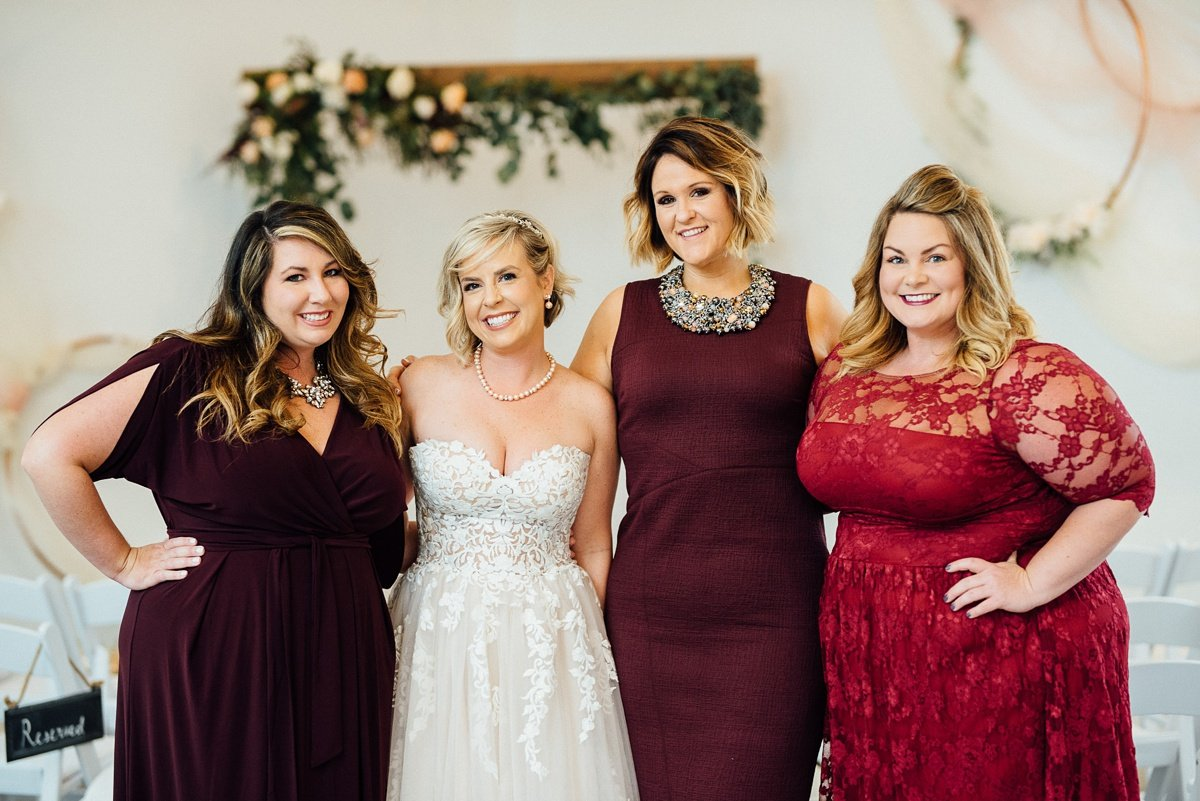 bride-with-friends White Avenue Studio Wedding | Katie + Ken