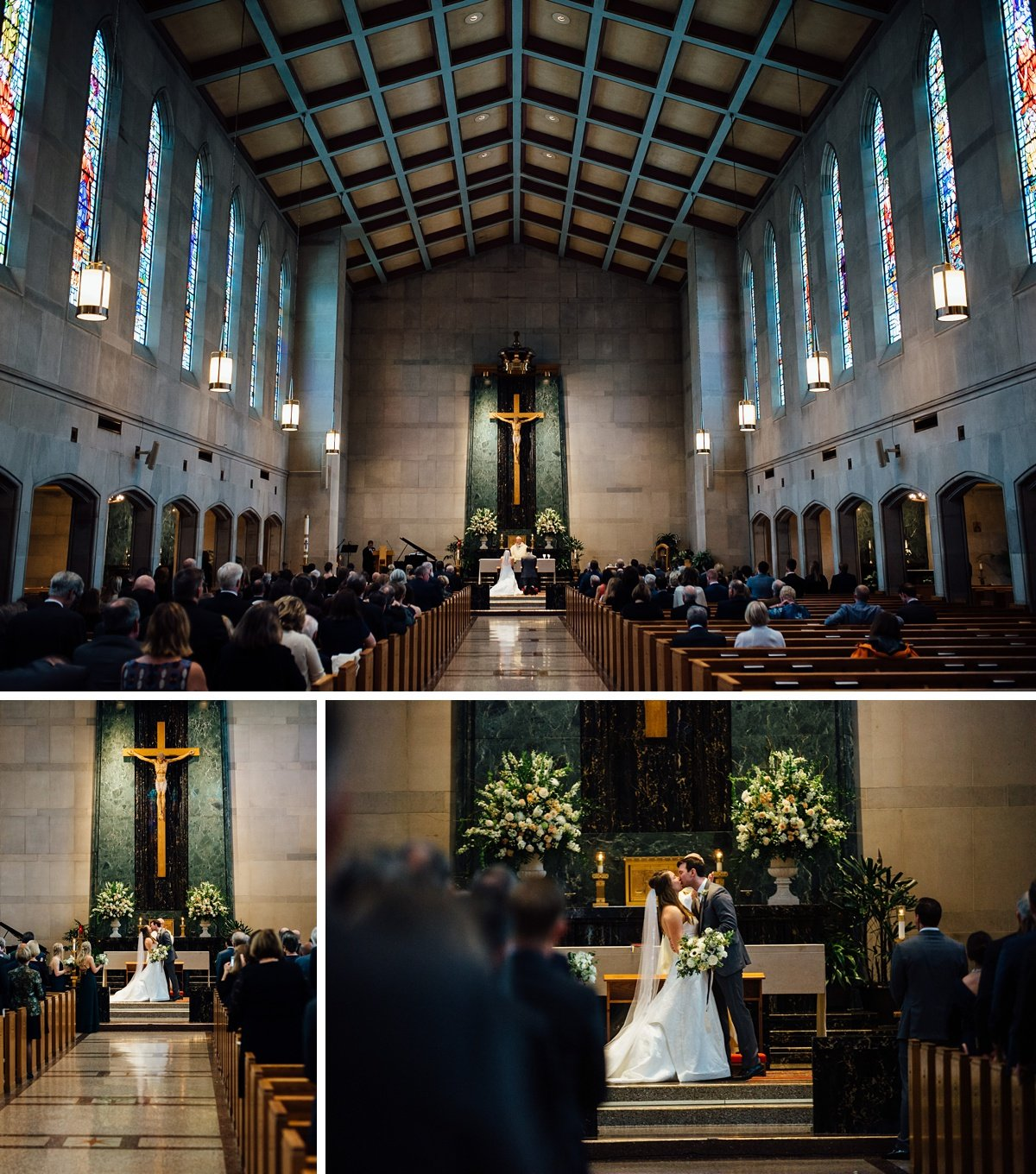 christ-the-king-photographer Christ The King Wedding | Loveless Barn | Nina + Evan