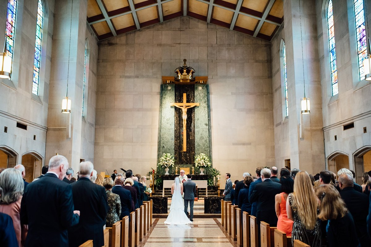 christ-the-king-wedding-ceremony Christ The King Wedding | Loveless Barn | Nina + Evan