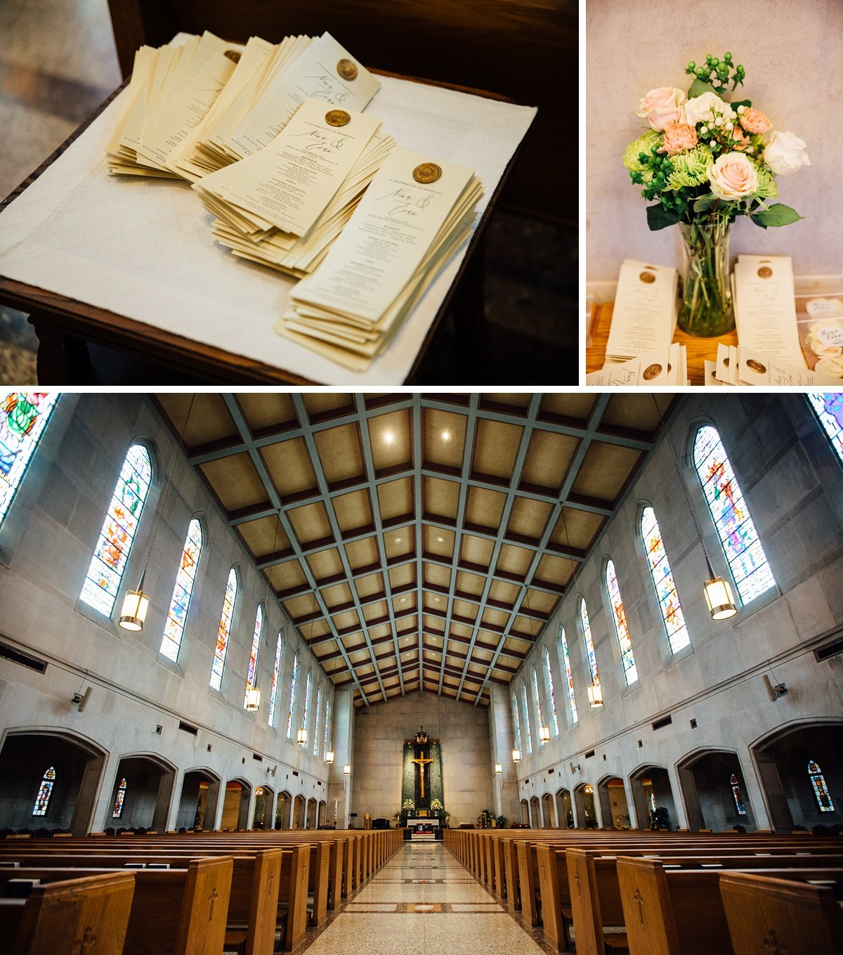 christ-the-king-wedding Christ The King Wedding | Loveless Barn | Nina + Evan