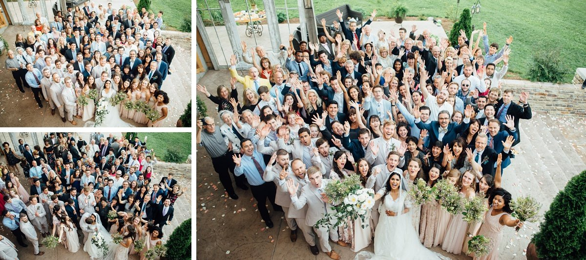 entire-wedding-guests-photo-1 Cason's Cove Alvaton, KY | Nicole + Austin