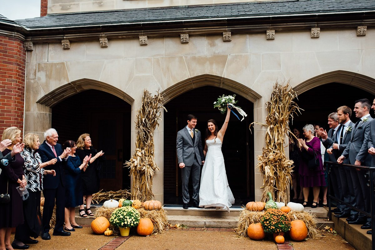 fall-wedding-pumpkins Christ The King Wedding | Loveless Barn | Nina + Evan