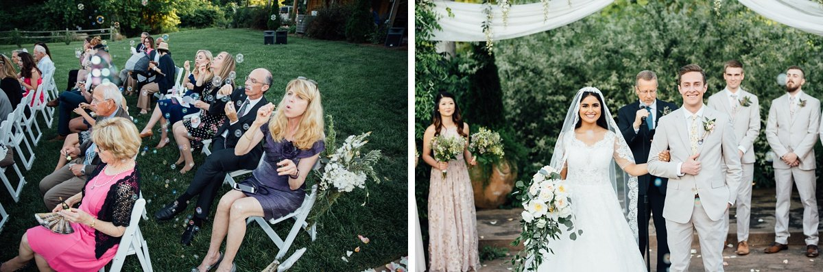 fun-wedding-exit-1 Cason's Cove Alvaton, KY | Nicole + Austin