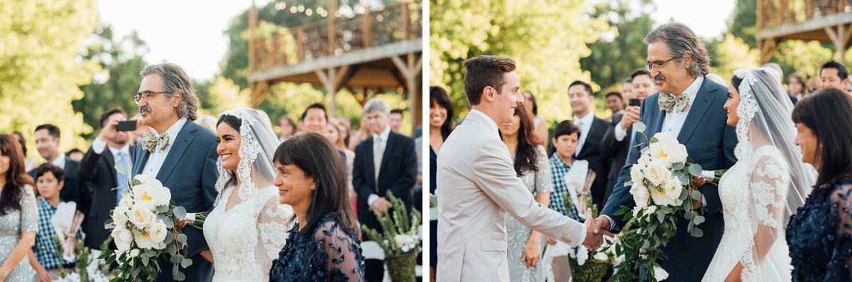 groom-shaking-father-hands-1 Cason's Cove Alvaton, KY | Nicole + Austin