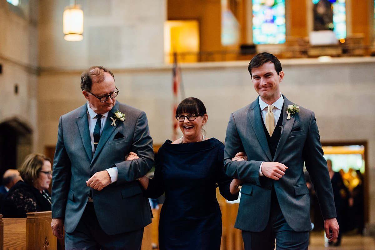 groom-with-mother Christ The King Wedding | Loveless Barn | Nina + Evan