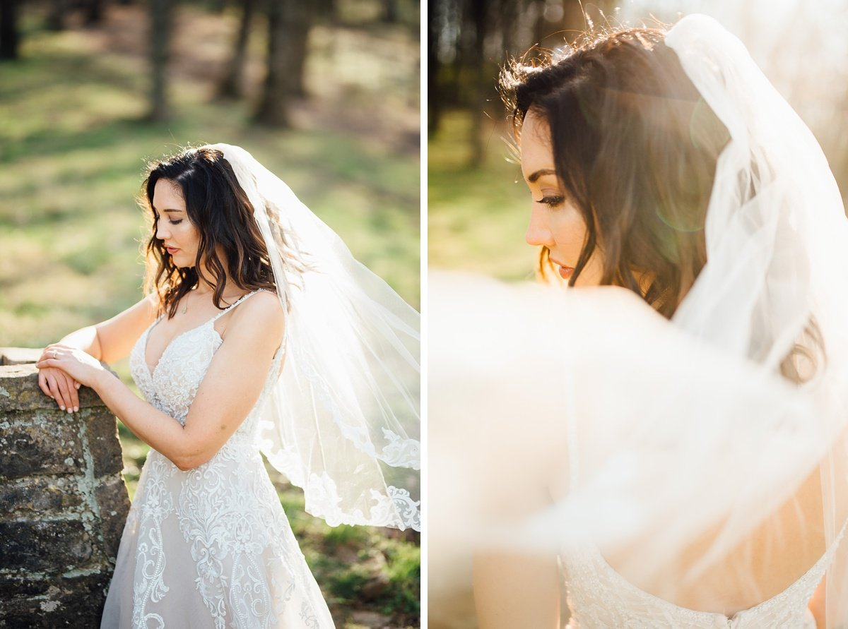 nashville-bridal-photographer Greenhouse and Percy Warner Bridal Session