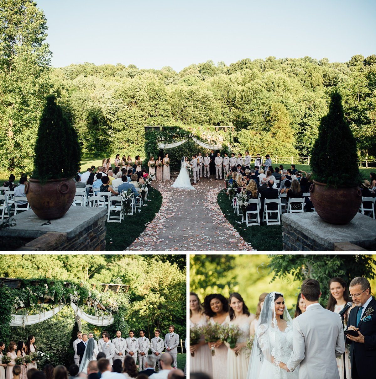 outdoor-wedding-ceremony-1 Cason's Cove Alvaton, KY | Nicole + Austin