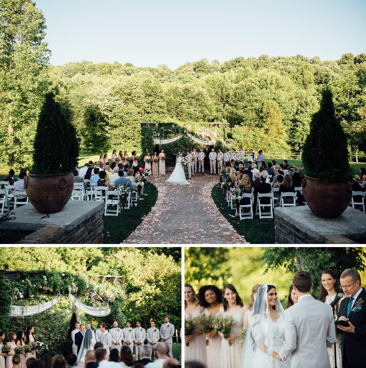 outdoor-wedding-ceremony-1 Cason's Cove Alvaton, KY | Nicole + Austin