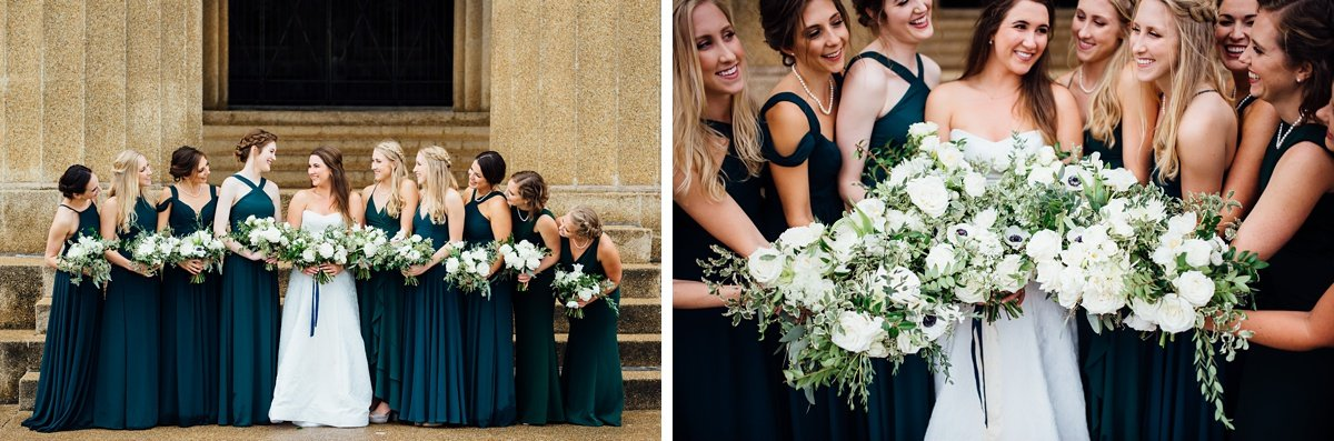 parthenon-wedding-portraits Christ The King Wedding | Loveless Barn | Nina + Evan