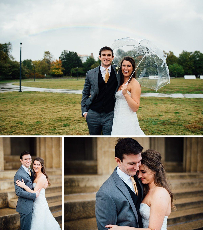 rainbow-nashville-wedding Christ The King Wedding | Loveless Barn | Nina + Evan