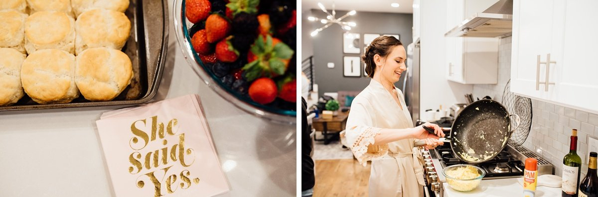 wedding-breakfast Christ The King Wedding | Loveless Barn | Nina + Evan