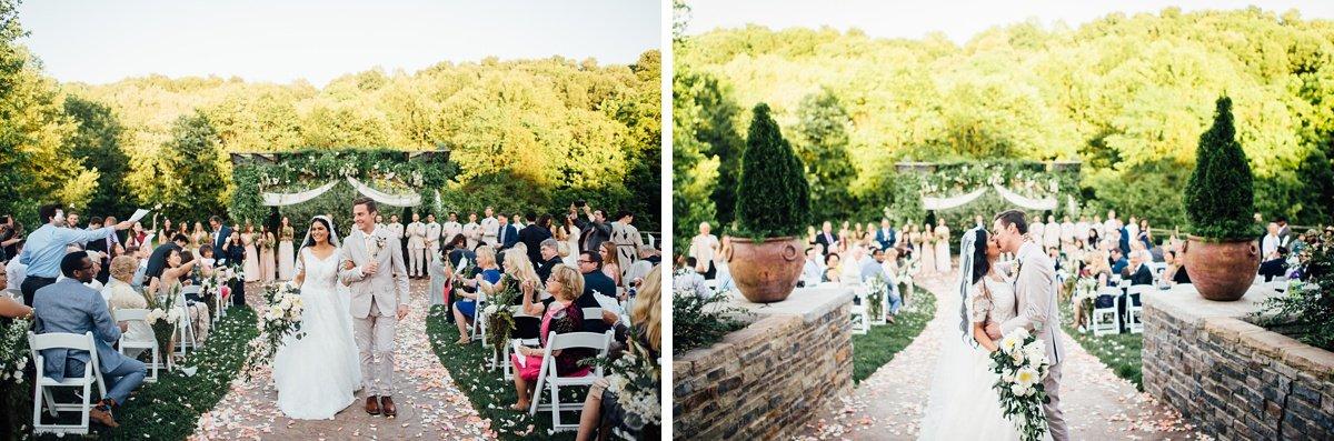 wedding-couple-kiss-1 Cason's Cove Alvaton, KY | Nicole + Austin