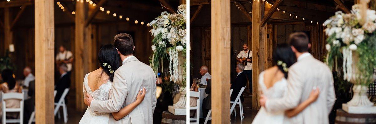 wedding-couple-watching-1 Cason's Cove Alvaton, KY | Nicole + Austin