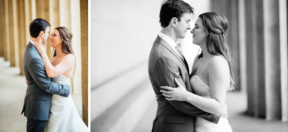 wedding-couple Christ The King Wedding | Loveless Barn | Nina + Evan