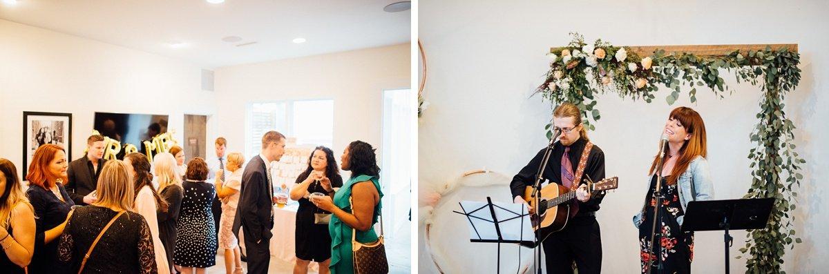wedding-guests White Avenue Studio Wedding   Katie + Ken