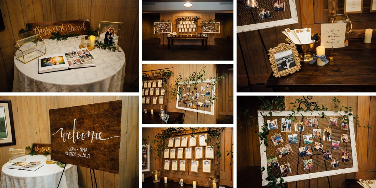 wedding-reception-details Christ The King Wedding | Loveless Barn | Nina + Evan