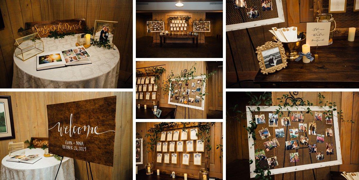 wedding-reception-details Christ The King Wedding | Loveless Barn | Nina + Evan