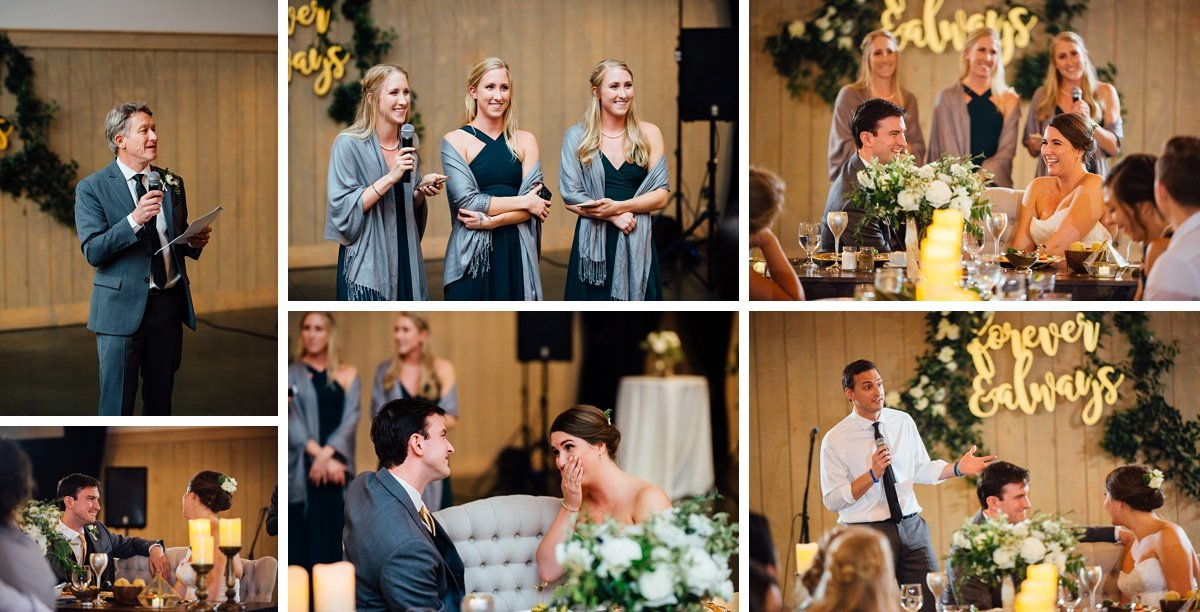 wedding-speeches Christ The King Wedding | Loveless Barn | Nina + Evan