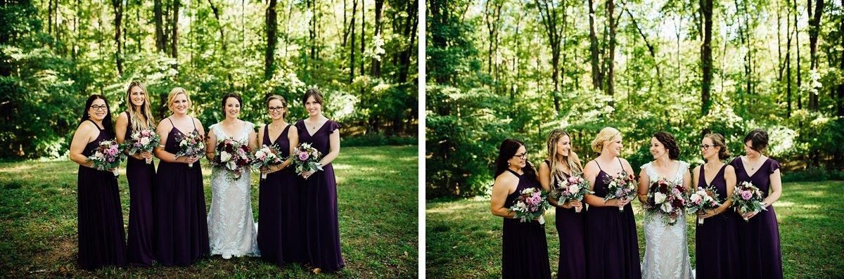 bride-bridesmaids Old Glory Distilling Co Wedding   Clarksville, TN   Matt + Shannon