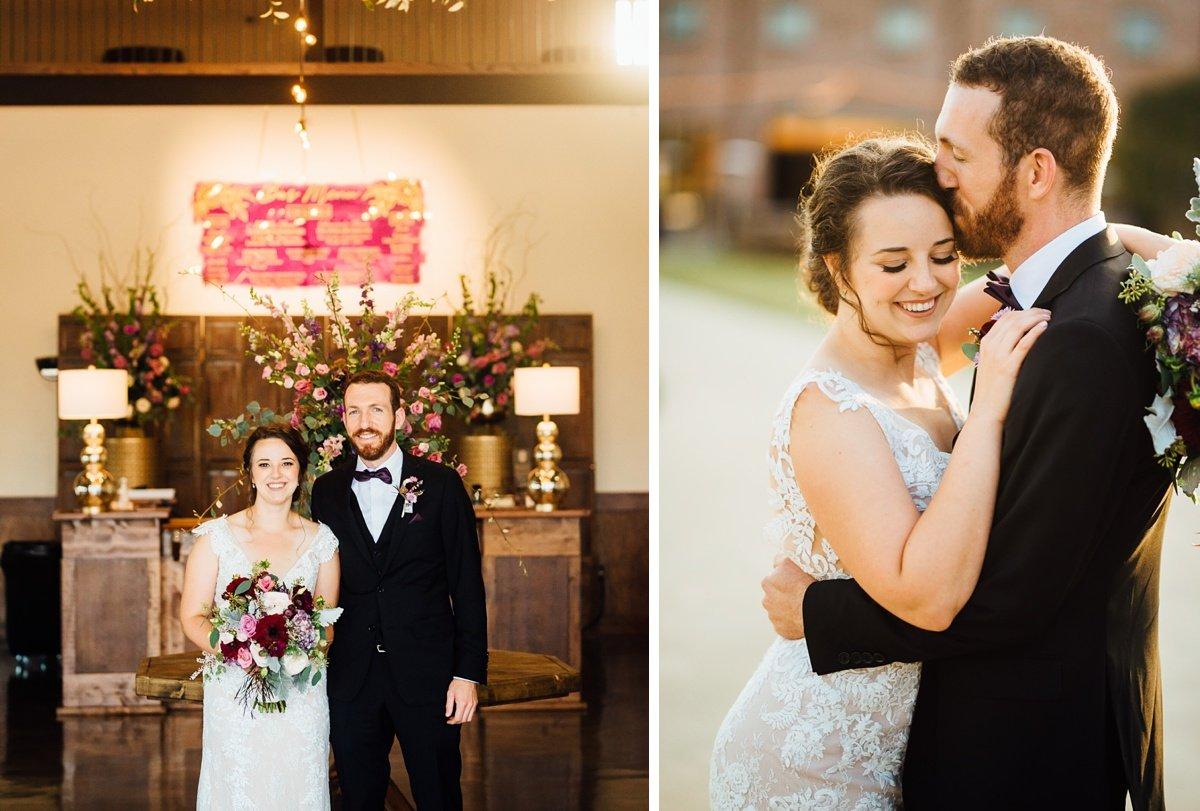 bride-groom-old-glory-distellery Old Glory Distilling Co Wedding   Clarksville, TN   Matt + Shannon