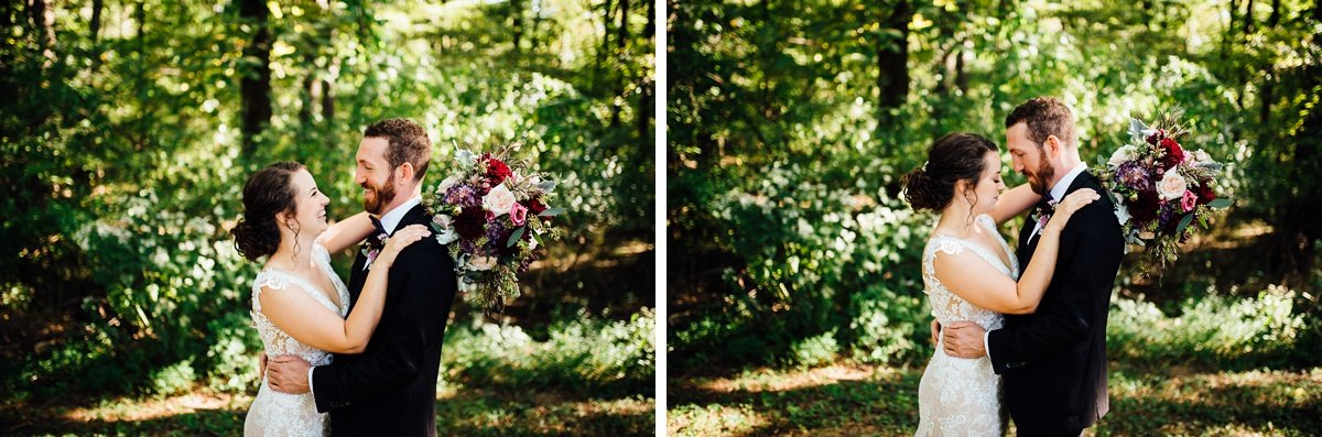 bride-groom-portraits Old Glory Distilling Co Wedding   Clarksville, TN   Matt + Shannon