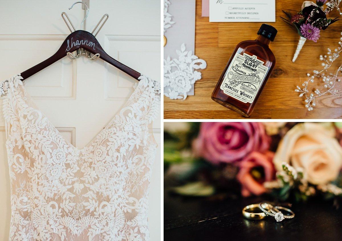 whiskey-wedding-details Old Glory Distilling Co Wedding   Clarksville, TN   Matt + Shannon