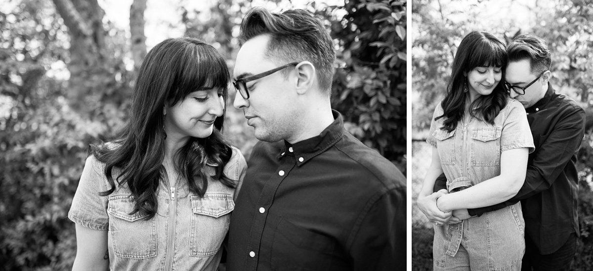 backyard-engagement-photos East Nashville Bar Engagement Session | Fox Nashville