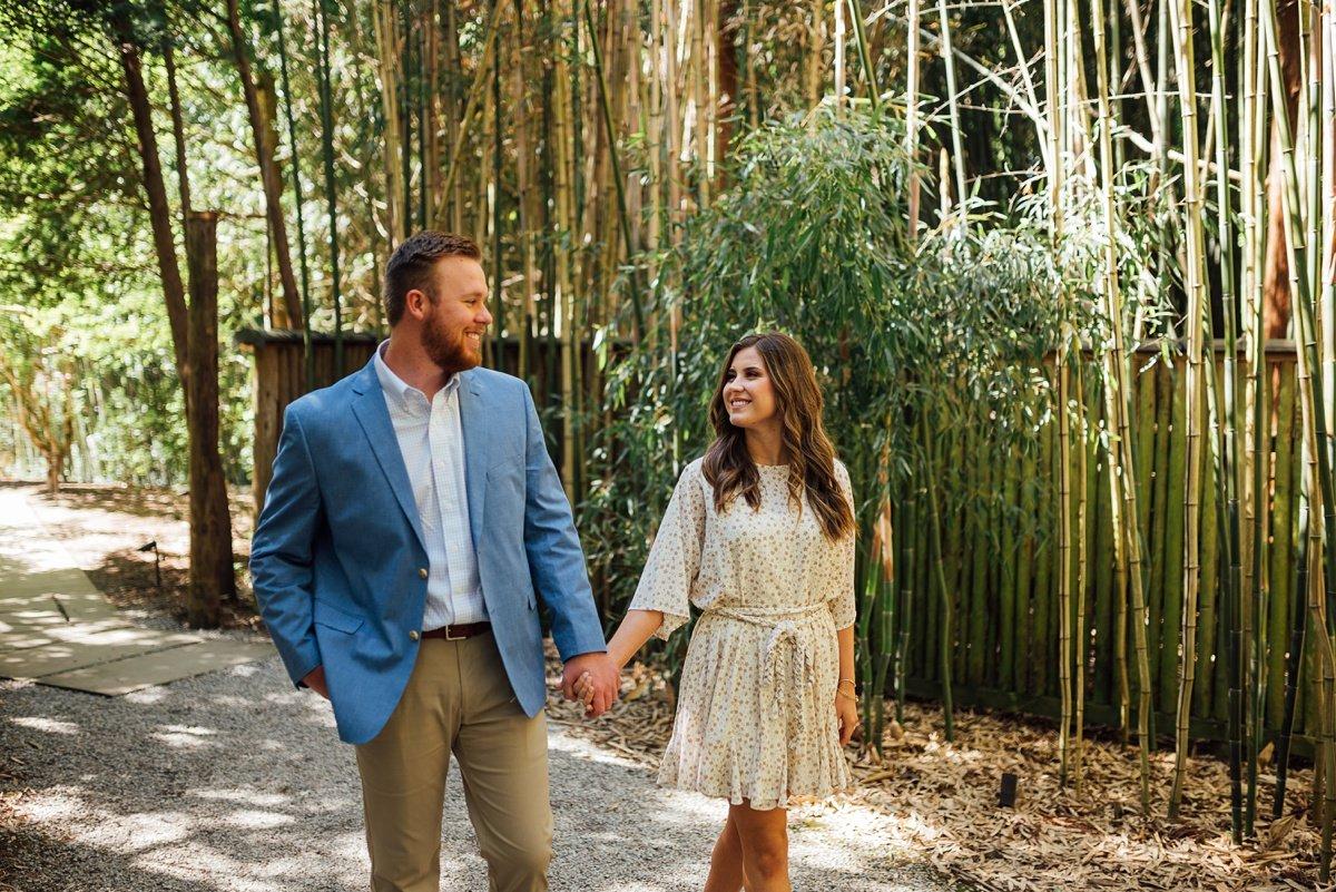 bamboo-walk Cheekwood Proposal - Truman + Alivia