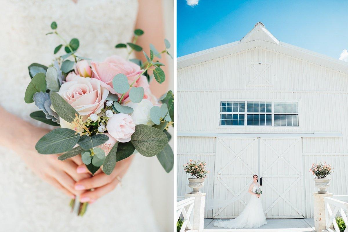 bridal-details Laura + Robert | White Dove Barn Wedding