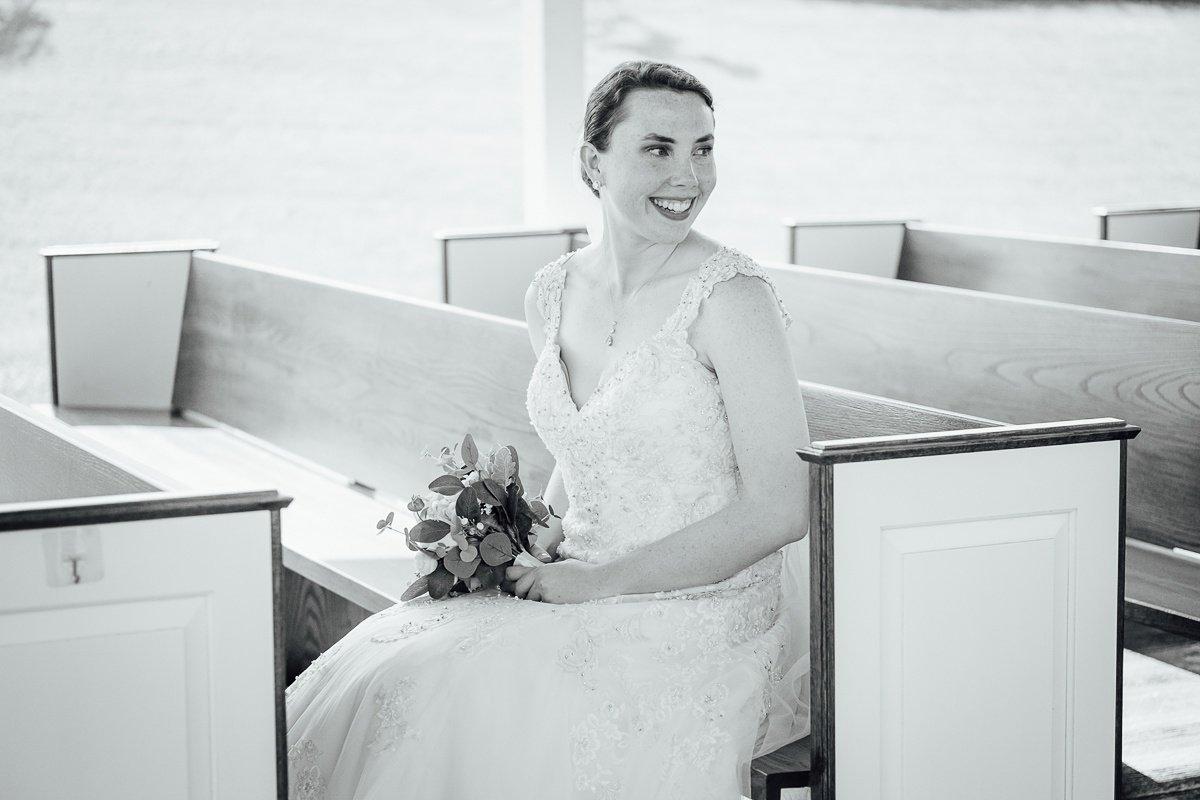 bridal-portrait Laura + Robert | White Dove Barn Wedding